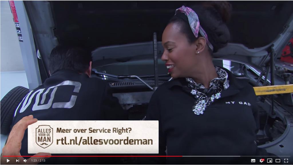 ServiceRight Auto's RTL Alles voor de man